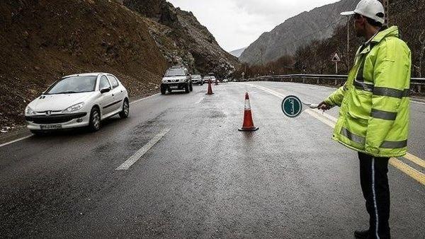 کدام جادههای کشور در 22 تیر مسدود هستند؟
