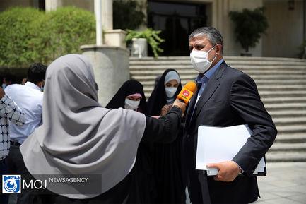 حاشیه جلسه هیات دولت - ۲۳ تیر ۱۴۰۰