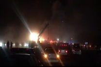 تصادف تانکر سوخت در جاده کاشان/20 مصدوم و 19 کشته تا این لحظه