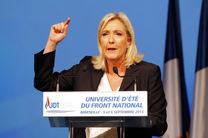 ماری لوپن: غرب در امور کشورهای دخالت می کند