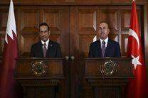 محورهای نشست مطبوعاتی مشترک وزرای خارجه ترکیه و قطر