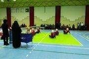 حضور مهتاب کرامتی در اردوی والیبال نشسته بانوان