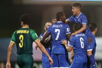 نتیجه بازی استقلال و الشرطه عراق در نیمه نخست