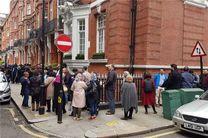 حضور پرشور ایرانیان مقیم لندن در انتخابات ریاست جمهوری
