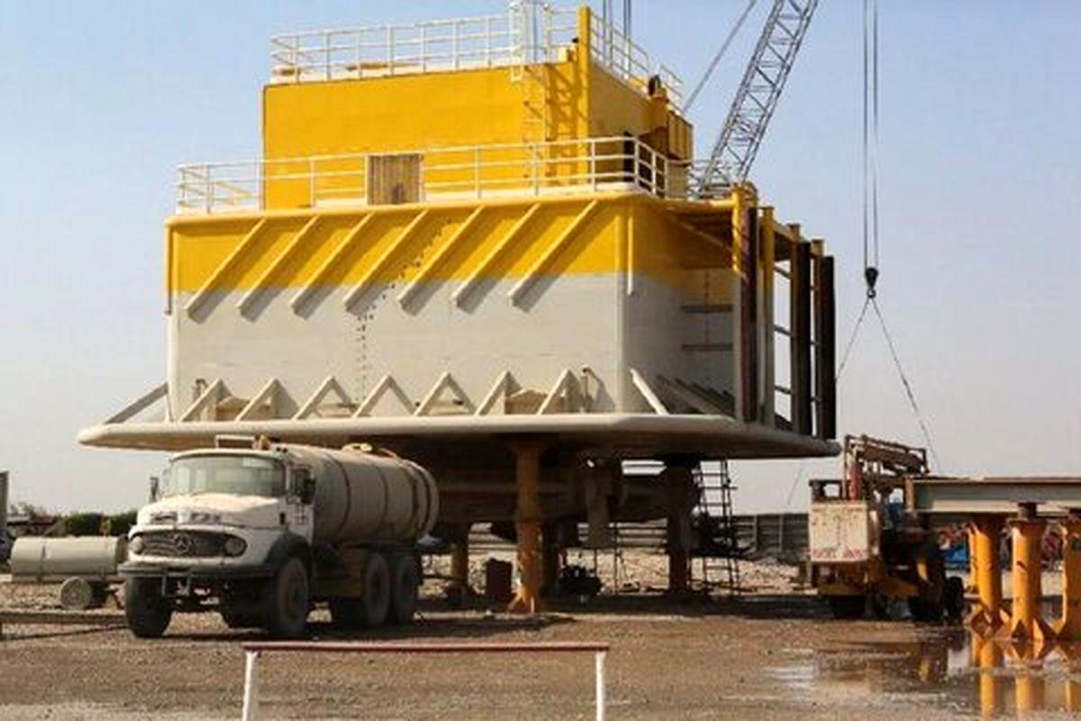 آغاز عملیات نصب نخستین گوی شناور پایانه نفتی جاسک