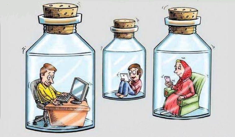 """تشدید """"اعتیاد به خود"""" از سوی شبکه های اجتماعی"""