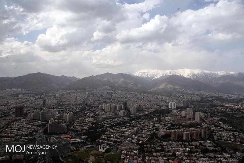 کیفیت هوای تهران در ۲۵ آبان ۹۸ سالم است