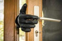 دستگیری سارق منزل حین سرقت در فامنین