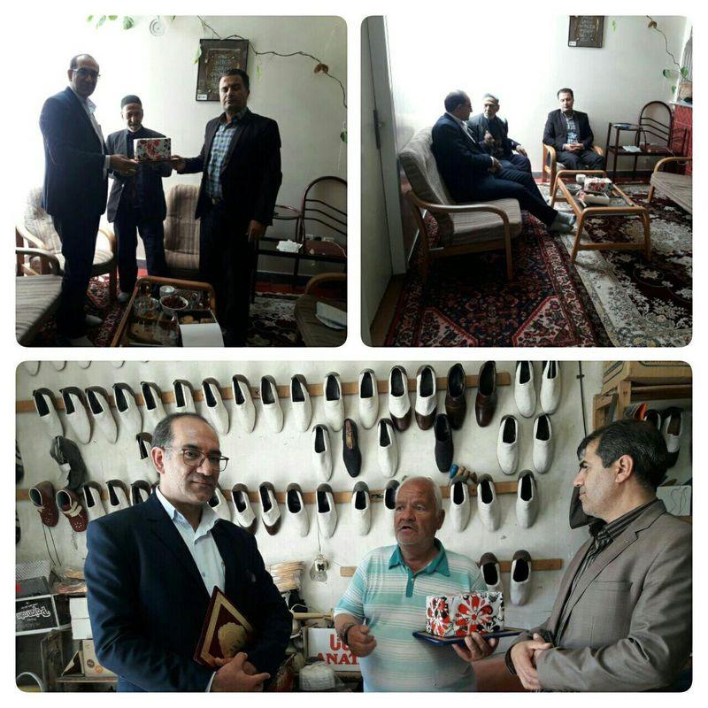 تجلیل از پیشکسوتان صنایع دستی قروه  درگزین وشاهنجرین