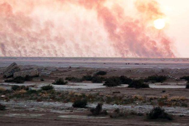 ارسال یک فروند بالگرد آبپاش از ایران جهت اطفای حریق هورالعظیم در عراق
