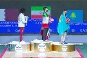 رسول معتمدی قهرمان دسته ۱۰۲ کیلوگرم مسابقات قهرمانی آسیا شد