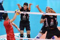 نتیجه بازی والیبال ایران و مصر/ شکست ناباورانه ایران در گام دوم