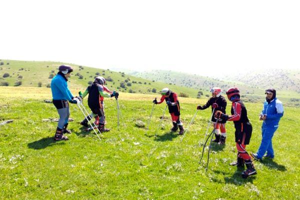 نمین میزبان اردوی انتخابی تیم ملی اسکی روی چمن بانوان