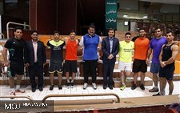 شهردار اصفهان در خانه کشتی تهران حضور یافت