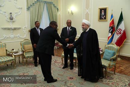 دیدار رییس جمهور با نخست وزیر سوازیلند