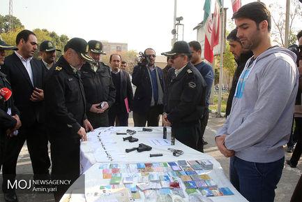سومین طرح دستگیری سارقان شهر تهران