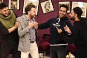 بازیگران در شام ایرانی مهمان پوریا پورسرخ شدند