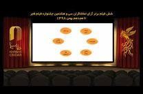 اسامی فیلمهای برتر مردمی جشنواره فیلم فجر اعلام شد
