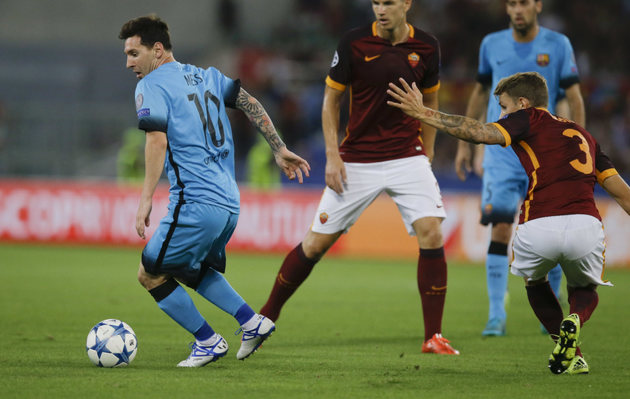 ساعت بازی برگشت آ اس رم و بارسلونا مشخص شد