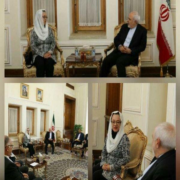 ظریف با معاون دبیرکل سازمان ملل در امور اسکاپ دیدار کرد