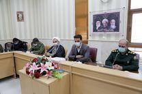 برگزاری نشست هماهنگی تشییع و تدفین دو تن از شهدای گمنام دفاع مقدس در بافق