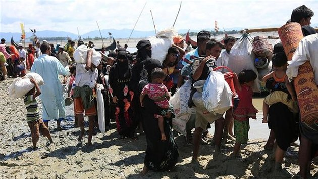 ساخت بزرگترین اردوگاه پناهندگان جهان توسط بنگلادش