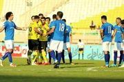 برتری سپاهان مقابل استقلال خوزستان در نیمه نخست