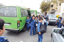 148 راننده فاقد مجوز سرویس مدارس در شهر کرمانشاه اعمال قانون شدند
