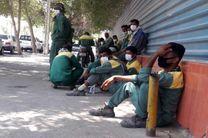 ادامه اعتراض کارگران و پاسخگو نبودن شهرداری بندرعباس