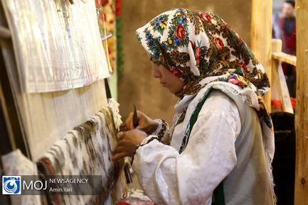 افتتاح چهارمین نمایشگاه توانمندی های روستاییان و عشایر