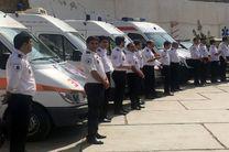 استقرار ۱۴۰ پایگاه اورژانس در مسیرهای راهپیمایی ۲۲بهمن در اصفهان