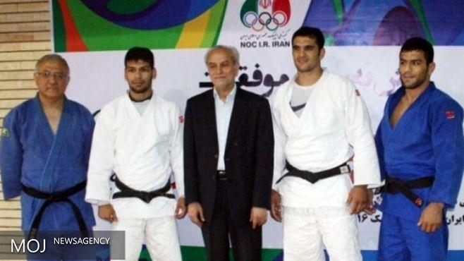 گرفتار شدن سعید مولایی در آسانسور دهکده بازیهای المپیک