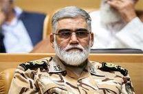 بازدید امیر پوردستان از اردوگاه تابستانی دانشگاه افسری ارتش