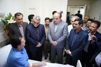 عیادت استاندار کرمانشاه از مجروحان حادثه تروریستی روز گذشته دالاهو