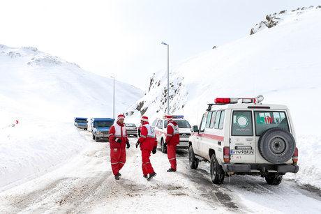 26 استان درگیر برف و کولاک/اسکان اضطراری به 750 نفر/امداد رسانی به 14 استان ادامه دارد