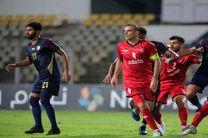 نتیجه بازی الوحده امارات و پرسپولیس در نیمه نخست