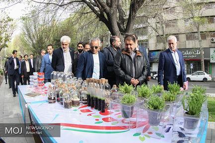 افتتاح نوروزگاه هنر