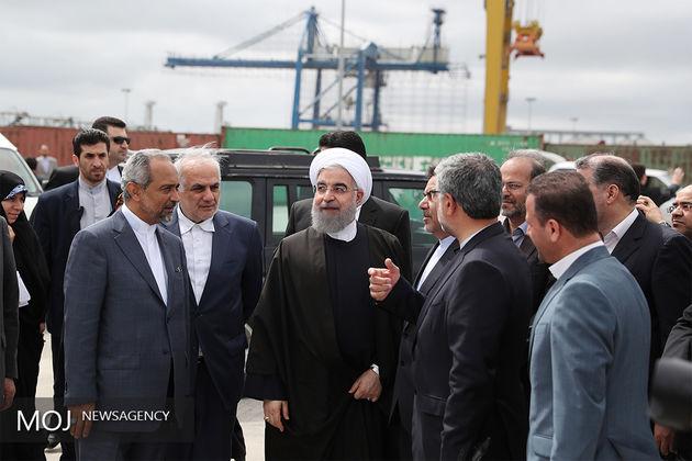 روحانی: روابط تجاری مناسبی با دنیا داریم/ افزایش 80 درصدی روابط ایران با روسیه