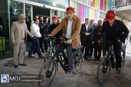 افتتاح+دومین+نمایشگاه+دوچرخه+شهری+و+حمل+و+نقل+پاک