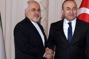 ظریف با همتایان ترکیهای و قطری خود در دوحه دیدار کرد