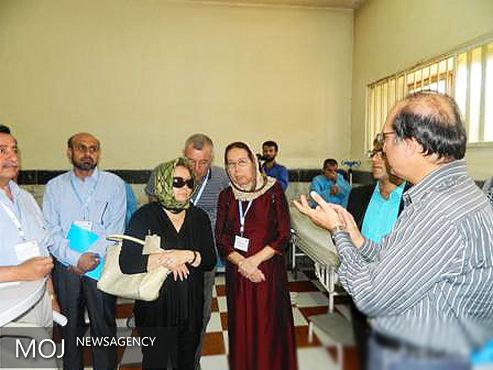 حضور نمایندگان ۷ کشور منطقه در زندان قزلحصار