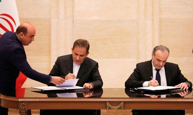 امضای توافقنامه استراتژیک اقتصادی میان ایران و سوریه