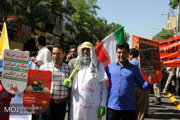 تقدیر و تشکر شورای هماهنگی تبلیغات اسلامی کردستان از حضور مردم درراهپیمایی روز قدس