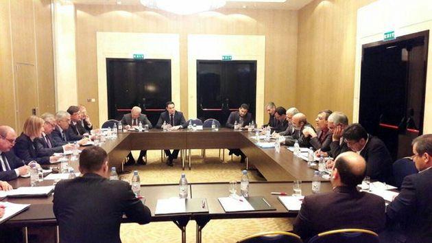 دیدار جابری انصاری و نماینده ویژه پوتین در امور سوریه