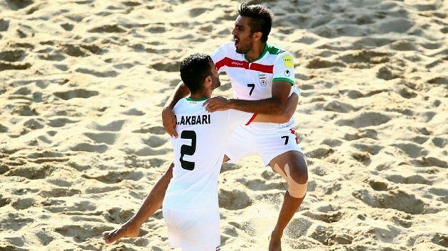 جایگاه پنجمی فوتبال ساحلی ایران در رنکینگ جهانی