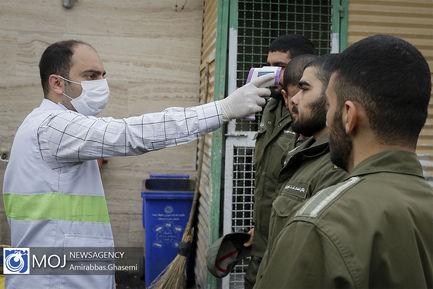گندزدایی و ضدعفونی قرارگاه های نیروی انتظامی