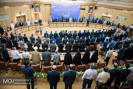 نشست شورای اداری استان گیلان با حضور علی لاریجانی