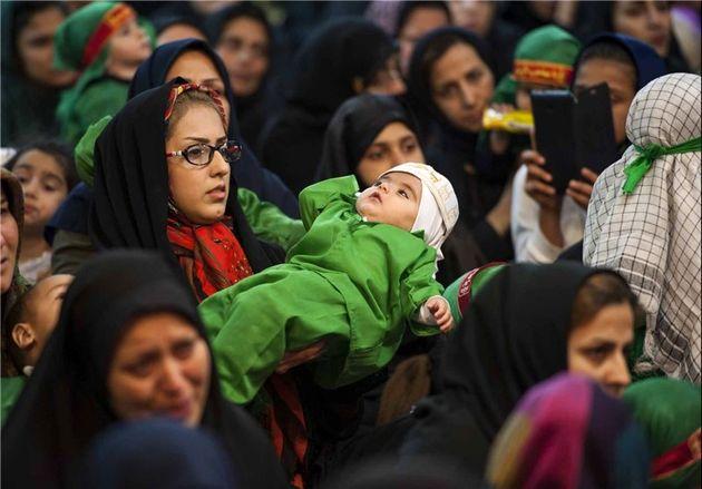 همایش شیرخوارگان حسینی در استان گلستان برگزار شد