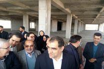 بازدید وزیر بهداشت از طرح توسعه مرکز آموزشی و درمانی کودکان امام حسین (ع) در اصفهان