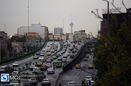 وضعیت ترافیکی معابر تهران اعلام شد